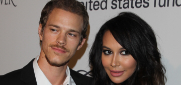 Naya Rivera's second-trimester pregnancy limits sex to 'about two positions'