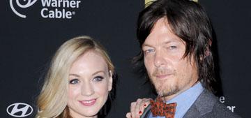 Norman Reedus is dating costar Emily Kinney: Noooo or cute couple? (update)