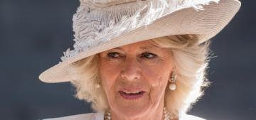 Duchess Camilla wears Anna Valentine at Waterloo 200th commemoration
