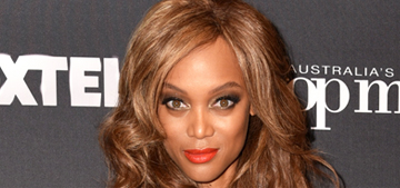 Tyra Banks posts a makeup free selfie (a real one): thirsty or awesome?