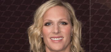 Zara Phillips says she had a 'slightly more normal upbringing' without a title