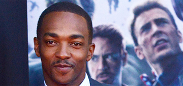 Anthony Mackie: Chris Evans needs a woman who 'can take care of him'
