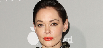 Rose McGowan: 'It's embarrassing to be part of Hollywood sometimes'