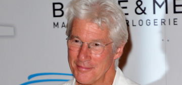 Richard Gere, 65, is vacationing with his 32-year-old girlfriend in Italy