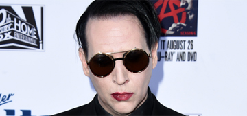 Marilyn Manson doesn't like being famous: 'I wonder if I've outgrown the spotlight'