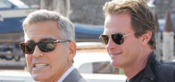 George Clooney & Rande Gerber have been on a boys-only roadtrip for weeks