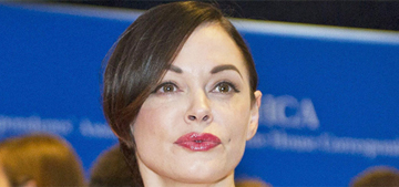 Rose McGowan claims her agent 'fired' her over those Adam Sandler tweets