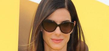Sandra Bullock wore 'Minions'-themed pumps to 'Minions' premiere: fabulous?