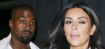 Kim Kardashian is in the unitard phase of maternity-wear: tragic or cute?