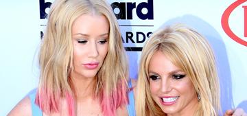 Iggy Azalea blames Britney Spears for their failed single in the grossest way