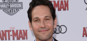 Paul Rudd, 46, looks boyish at the 'Ant-Man' premiere: would you hit it?
