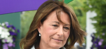 Carole Middleton doesn't care if you think she's 'an arriviste or a social climber'