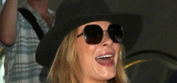 LeAnn Rimes arrives at LAX: was she drunk or just drunk on attention?