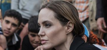 Angelina Jolie praised, other celebs mocked in blind-item-y Guardian article
