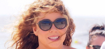 Mariah Carey almost capsized a yacht because she tried to walk down stairs