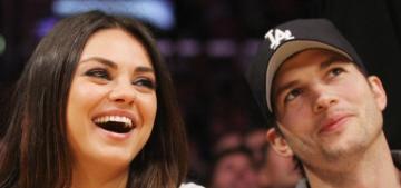 Mila Kunis & Ashton Kutcher probably got married in LA this weekend