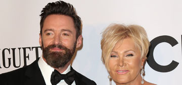 Hugh Jackman's wife: he's not allowed to work with Angelina Jolie