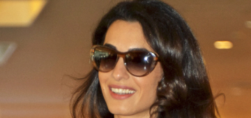 George & Amal Clooney spent the holiday in Italy, with Julia Roberts