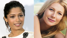 Gwyneth Paltrow afraid Freida Pinto will steal her Estee Lauder contract