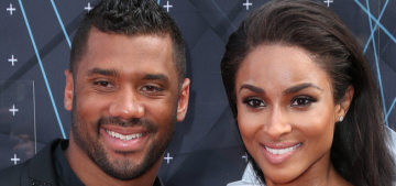 Russell Wilson & Ciara have been dating for months but they're not having sex