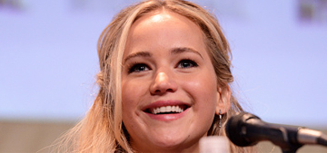 Jennifer Lawrence fangirled Bill Murray and ate all the food at Comic-Con