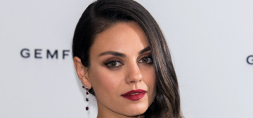 Mila Kunis: 'I will say this: We have a gun at the house… I respect the gun'