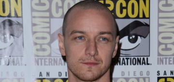 James McAvoy & Michael Fassbender at Comic-Con: who would you rather?