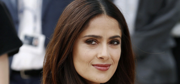 Salma Hayek's husband called her 'lazy' after she gave birth & didn't want to work