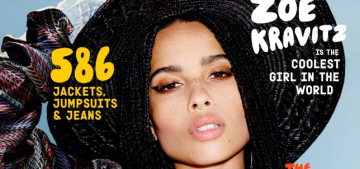 Zoe Kravitz was deemed 'too urban' to get an audition for 'The Dark Knight Rises'