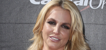 Britney Spears in Davidson Zanine at the ESPYs: ice-skater fug or adorable?