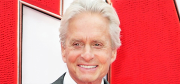 Michael Douglas credits his success to a 'big d***' & his health to no-gluten diet