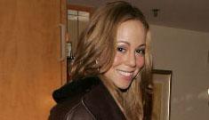 Mariah Carey poses for swag