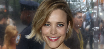 Rachel McAdams in Self Portrait at the 'Southpaw' premiere: cute or unflattering?