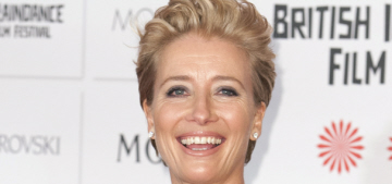 Emma Thompson: Sexism has 'become more entrenched & more prevalent'