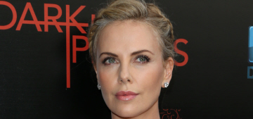 Charlize Theron in Dior Resort at the 'Dark Places' LA premiere: pretty or icy?
