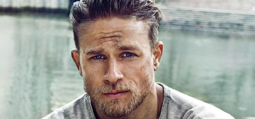 Charlie Hunnam did a gorgeous photoshoot with EW: would you hit it?