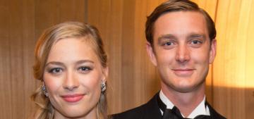 Pierre Casiraghi married Italian heiress Beatrice Borromeo in Monaco on Saturday