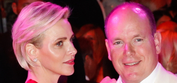 Princess Charlene in a Valentino jumpsuit at the Red Cross Ball: cute or fug?