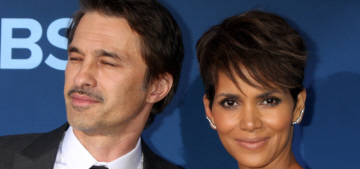 Radar: Halle Berry & Olivier are living separately because of his 'runaway temper'
