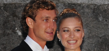Pierre Casiraghi & Armani-clad Beatrice Borromeo married again in Italy: lovely?