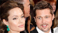 Angelina upset to find Brad drunk, passed out cold
