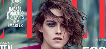 Kristen Stewart covers the September issue of Elle UK: beautiful or boring?