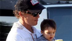 Matthew McConaughey says son Levi is 'an easy traveler'