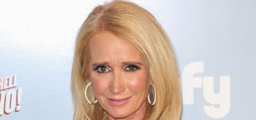 Kim Richards is a terrible shoplifter, tried to walk out of Target with a full cart