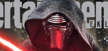 EW: Star Wars' big bad guy, Adam Driver's Kylo Ren, is a total Darth Vader stan