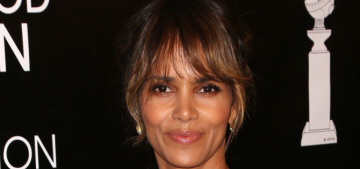 Halle Berry doesn't even care enough to wear her wedding band nowadays