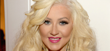 Christina Aguilera looks really different now, right?  What did she do?