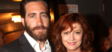 Enquirer: Jake Gyllenhaal & Susan Sarandon are 'hooking up on the down-low'