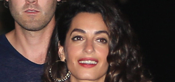 Amal Clooney wore Stella McCartney for a dinner in Ibiza: cute or budget?