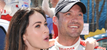 TMZ: Megan Fox will have to support Brian Austin Green, because of his vertigo